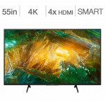 Sony 55-in. 4k hdr android smart tv xbr55x800h