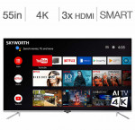 Skyworth 55-in. 4k android smart tv 55q20200