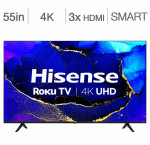 Hisense 55-in. 4k hdr roku smart tv 55r61g
