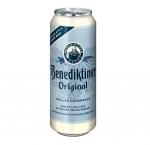 Benediktiner hell 24 x can 500 ml