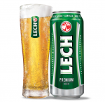 Lech beer 24 x can 500 ml