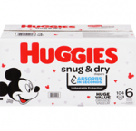 Huggiessnug & dry diapers, size 6, 104 ct