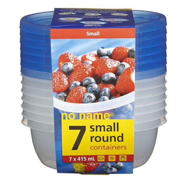 No nameround container 415ml