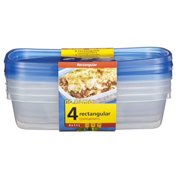 No namerectangular container