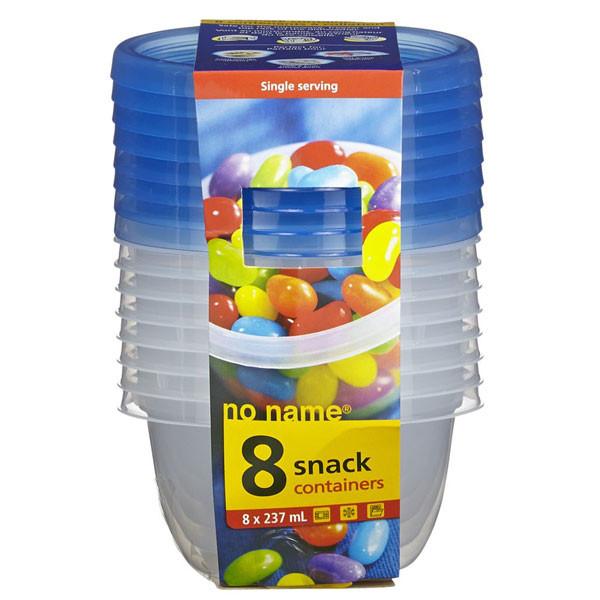 No namesnack container 237ml