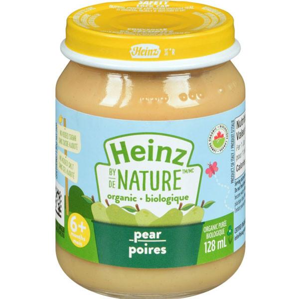 Heinzorganic baby food - pr purée1